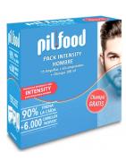 Pilfood Pack Intensity Hombre Ampollas Anticaída + Cápsulas + Champú