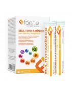 Farline Multivitamínico 30 Comprimidos Efervescentes