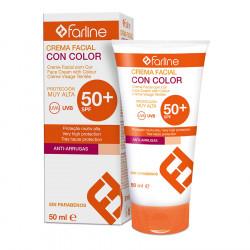 Farline Crema Facial con Color SPF50 50ml