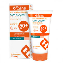 Farline Gel Crema Color SPF50 50ml