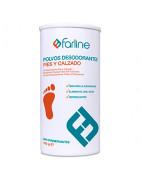 Farline Polvos Desodorantes de Pies y Calzado 100g