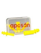 Tapones Silicona para niños Aposan 4uds