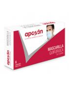 Aposan Mascarilla Quirúrgica 6uds
