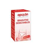 Braguitas Desechables de Papel T38 Mediana Aposan 4 uds