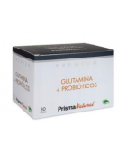 Glutamina y Probiótico Prisma Natural 30 Sticks