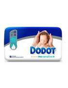 Dodot Pro Sensitive Pañal Talla 0 Recién Nacido Hasta 3Kg 38ds