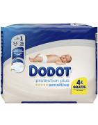 Dodot Sensitive Talla 1 Pañal Recién Nacido (2-5 kg) 28uds
