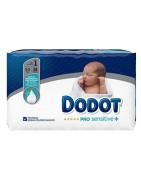 Dodot PRO Sensitive Pañal Talla 1 Recién Nacido (2-5Kg) 38uds