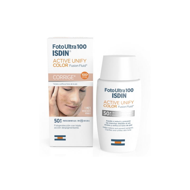 Isdin FotoUltra 100 Active Unify Fusion Fluid Color SPF50 50ml