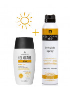Heliocare Pack Spray Invisible SPF50 200ml + Heliocare 360 Water Gel 50ml