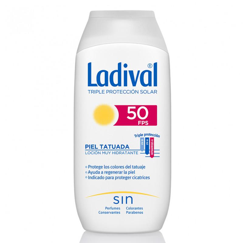 Ladival Protector Solar Pieles Tatuadas SPF50 200ml