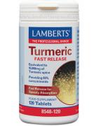 Lamberts Turmeric Curcuma Rápida liberación 120 Comp