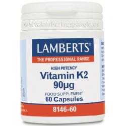 Lamberts Vitamina K2 Alta Potencia 60comp