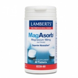 Lamberts MagAsorb 150mg. 60comp.