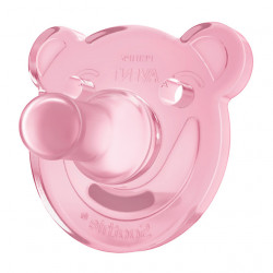 Chupetes Soothie Rosa 0-3 meses 2uds