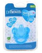 Chupetes Dr Browns Silicona 0 Meses AZUL 1ud