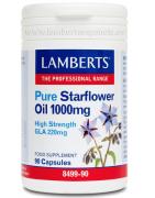 Lamberts Aceite de Borraja Puro 1000mg (High GLA 220mg) 90cáps
