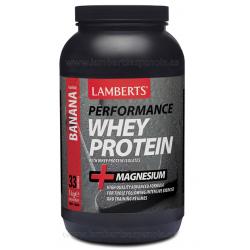 Lamberts Whey Protein Sabor Plátano 1 kg