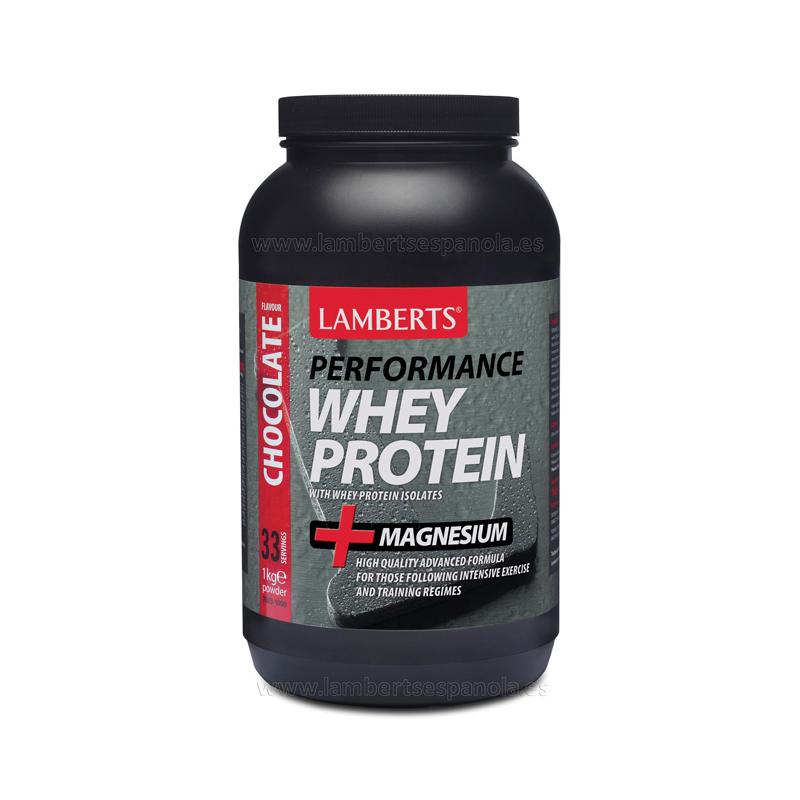 Lamberts Whey Protein Sabor Chocolate 1 kg