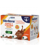 Meritene Drink Fuerza y Vitalidad Chocolate 6x125ml