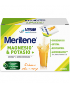 Meritene Magnesio y Potasio Sabor Naranja 20 Sobres