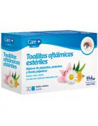Care+ Ojos Toallitas Oftálmicas Estériles 30uds
