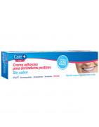 Care+ Crema Adhesiva para Dentaduras Postizas (Sin Sabor) 40g