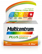 Multicentrum Plus Ginseng Ginkgo 30 Comp