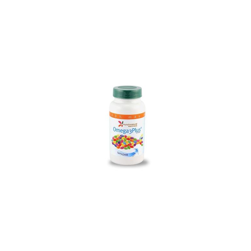 Omega 3 Plus Mundo Natural 120 perlas