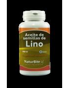 Naturbite Aceite de Semillas de Lino 60 Cápsulas