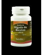 Naturbite Aceite de Hígado de Bacalao 90 Cápsulas