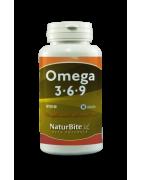 Naturbite Omega 3 6 9  60 Cápsulas