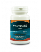 Naturbite Vitamina D2 400ui 60 Comp