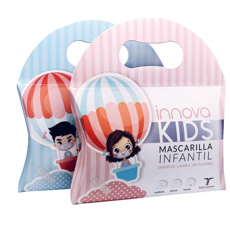 Innova Kids Mascarillas Infantiles Reutilizables 2uds