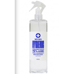 Loción Spray Higienizante Welnig 73% 500ml