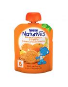 Naturnes Plátano, Naranja y Galleta 90g