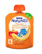 Naturnes Manzana, Plátano y Avena