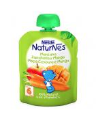 Naturnes Manzana, Zanahoria y Mango 90g