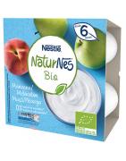 Naturnes BIO Manzana y Melocotón 4x90 Gr