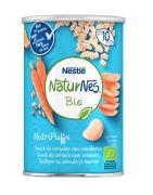 Naturnes BIO Snack Cereales, Zanahoria y Naranja 35 Gr.