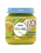 Naturnes BIO Puré de Guisantes Patata y  Pollo 200gr