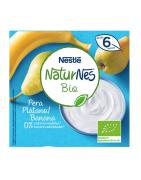 Nestle Naturnes BIO Plátano y Pera 4x90 Gr