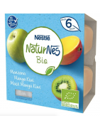 Naturnes BIO Manzana, Mango y Kiwi 4x90