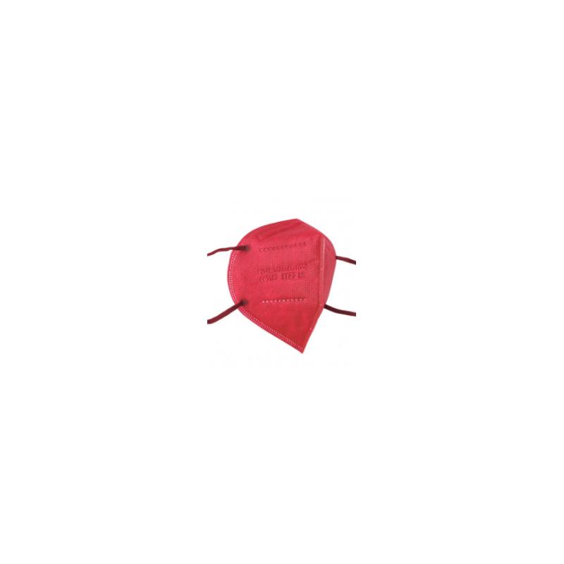 Mascarilla FFP2 Rojo 50uds