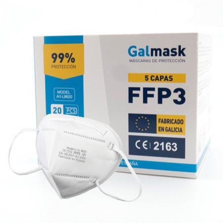 Mascarilla FFP3 Adulto Galmask 20uds