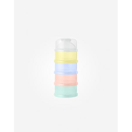 Saro contenedor de Leche en Polvo arco iris